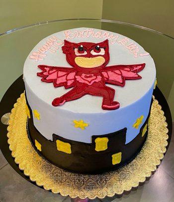 PJ Masks Layer Cake - Owlette