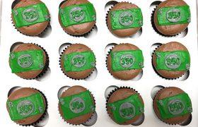 Dollar Bill Cupcakes - Chocolate