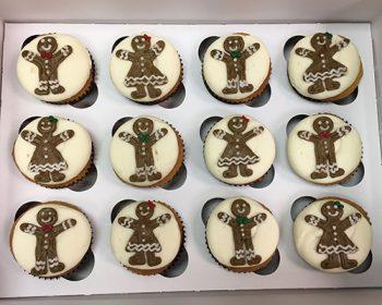 Gingerbread Cookie Cupcakes