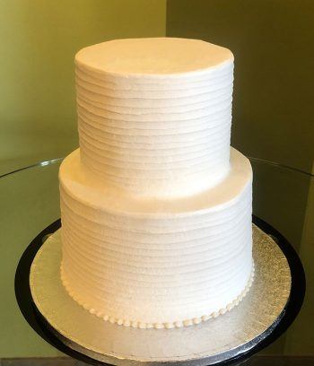 Anabelle Tiered Cake - White