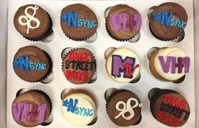Boy Band Cupcakes