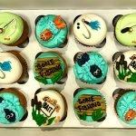 Gone Fishing Cupcakes