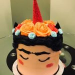 Frida Kahlo Unicorn Layer Cake