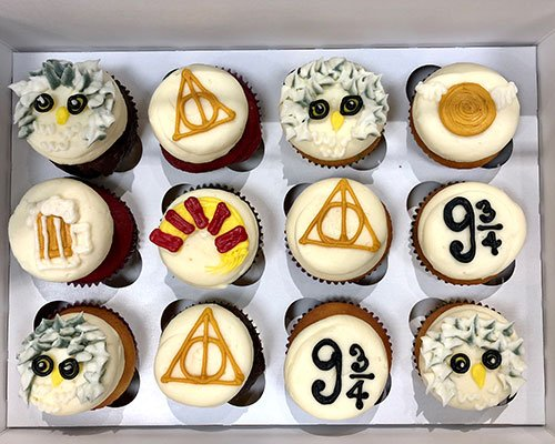 Harry Potter Cupcakes Classy Girl Cupcakes