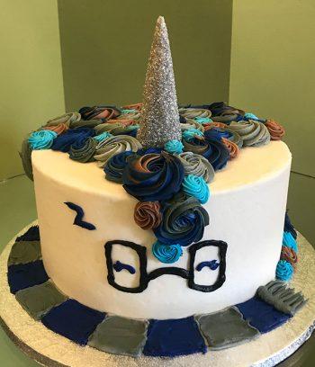 Harry Potter Unicorn Cake - Ravenclaw