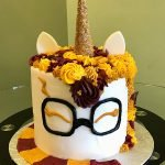 Harry Potter Unicorn Layer Cake