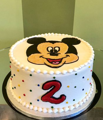 Mickey Mouse Layer Cake - 8 Inch