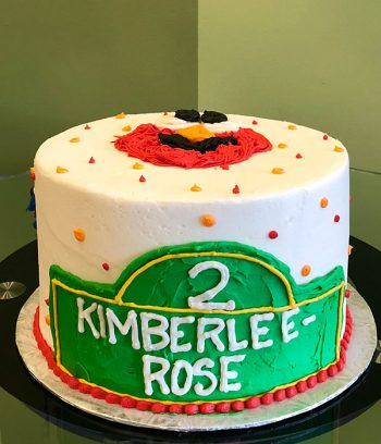 Sesame Street Layer Cake