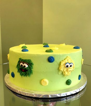 Sesame Street Layer Cake - Green