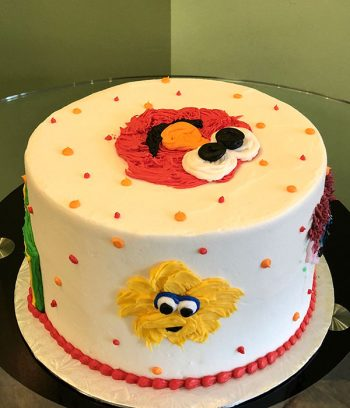 Sesame Street Layer Cake - Right Side
