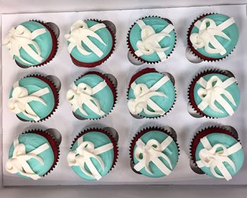 Tiffany Box Cupcakes