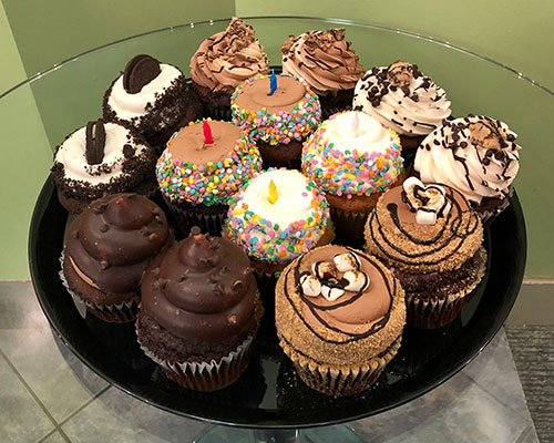 Jumbo Filled Cupcake Party Tray
