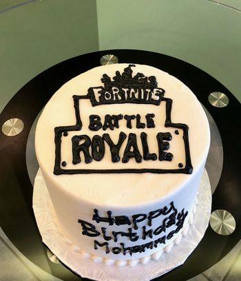 Fortnite Logo Layer Cake - Top