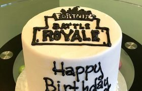 Fortnite Logo Layer Cake