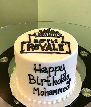 Fortnite Logo Layer Cake