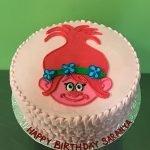 Poppy Trolls Layer Cake