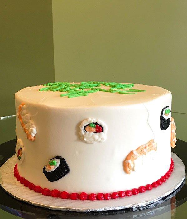 Sushi Layer Cake