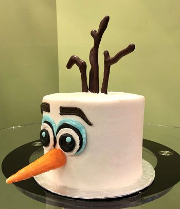 Olaf Layer Cake - Side