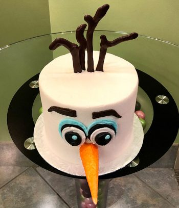 Olaf Layer Cake - Top