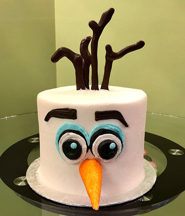 Olaf Layer Cake