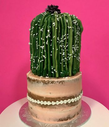 Cactus Tiered Cake
