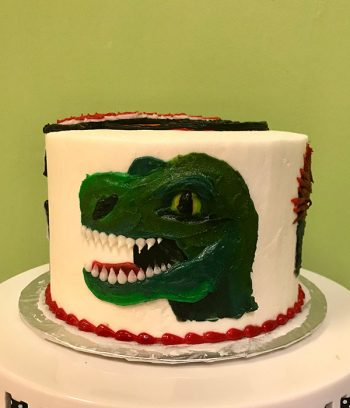 Jurassic Park Layer Cake - Back