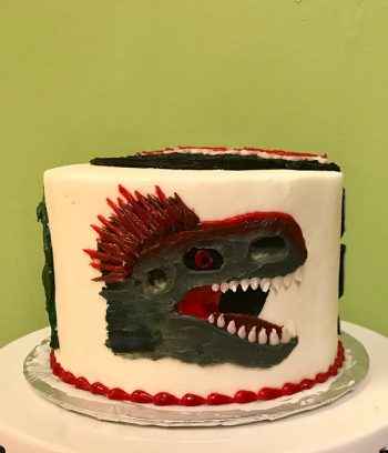 Jurassic Park Layer Cake - Side
