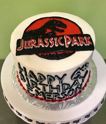 Jurassic Park Layer Cake