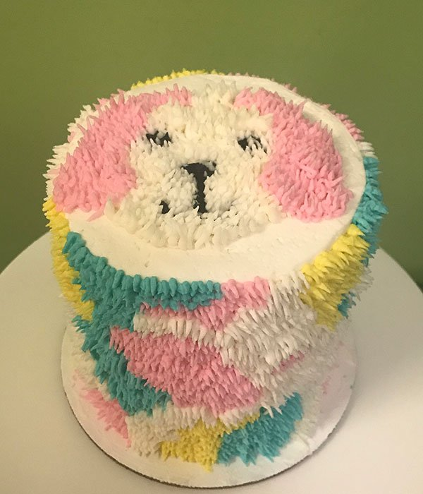 Shaggy Dog Layer Cake