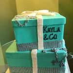 Tiffany Box Tiered Cake