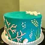 Under The Sea Layer Cake - Coral
