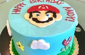 Super Mario Layer Cake - Front