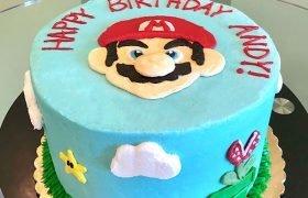 Super Mario Layer Cake - Front