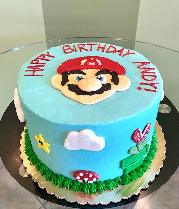 Super Mario Layer Cake