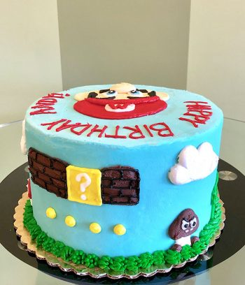 Super Mario Layer Cake - Side