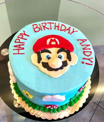 Super Mario Layer Cake - Top