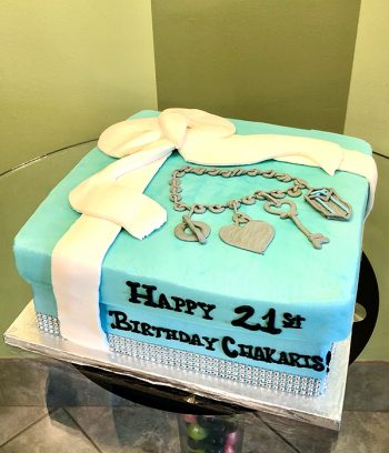 Tiffany Box Layer Cake - 10 Inch