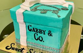 Tiffany Box Layer Cake