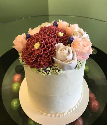 Assorted Flower Layer Cake
