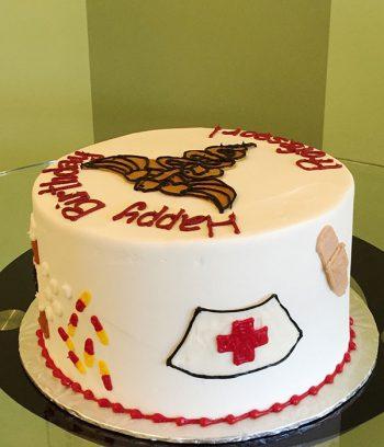 Medical Layer Cake - Left Side