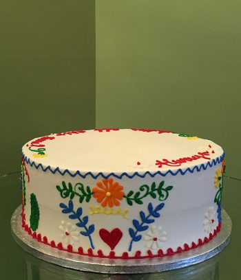 Mexican Embroidery Layer Cake