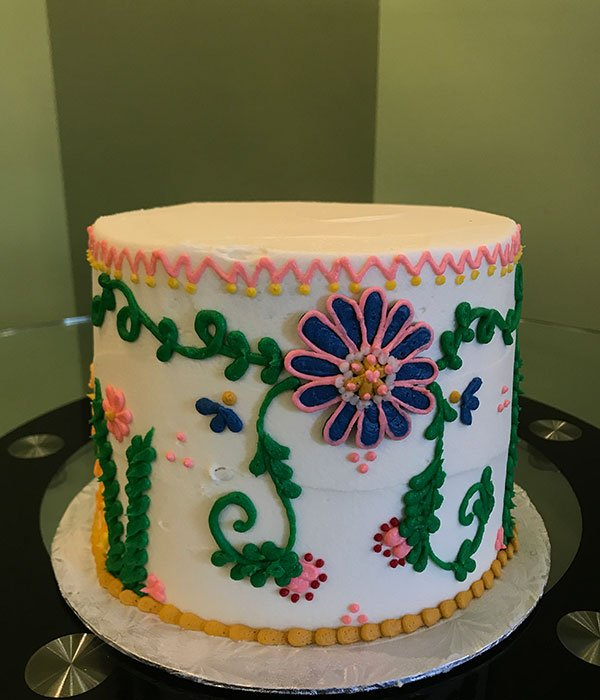 Mexican Embroidery Layer Cake Classy Girl Cupcakes
