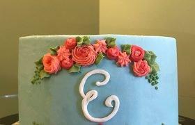 Monogram Layer Cake
