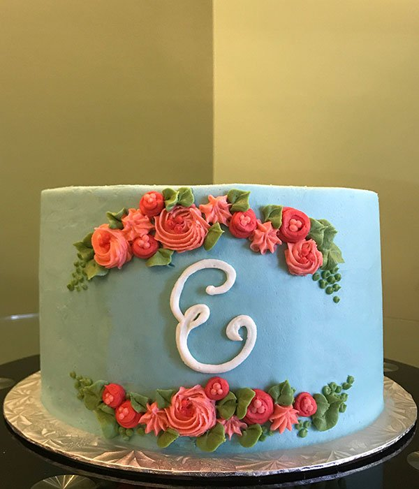 Monogram Layer Cake