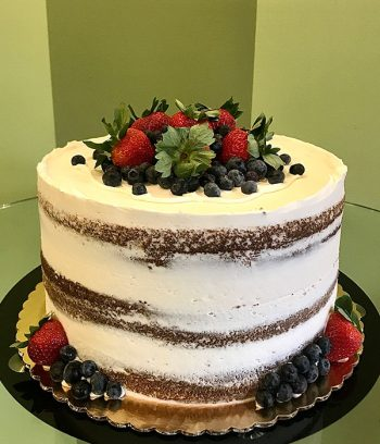 Naked Layer Cake - Fresh Berries