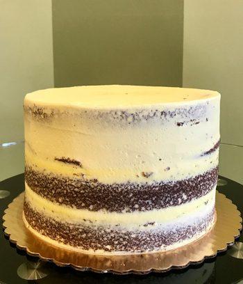 Naked Layer Cake - Lemon Buttercream