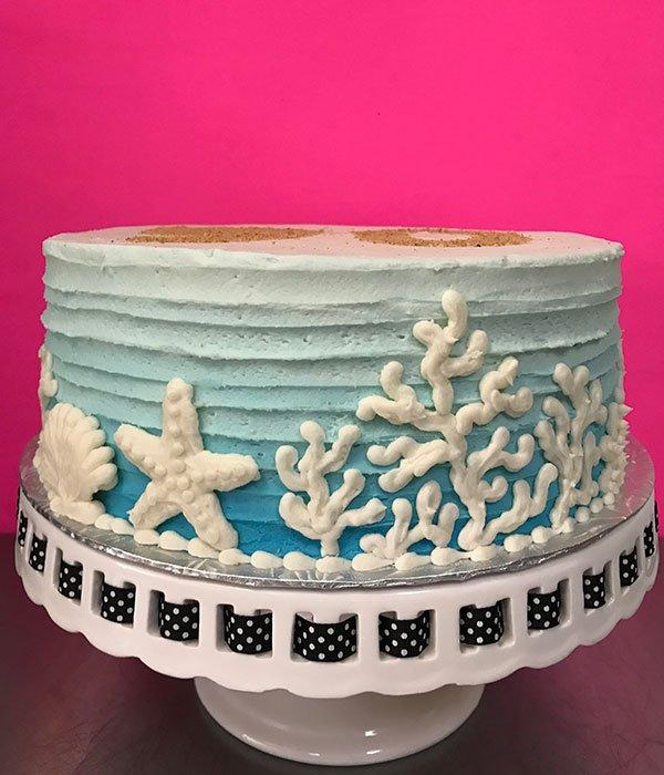 Starfish Layer Cake