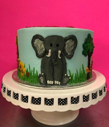 Zoo Layer Cake - Elephant