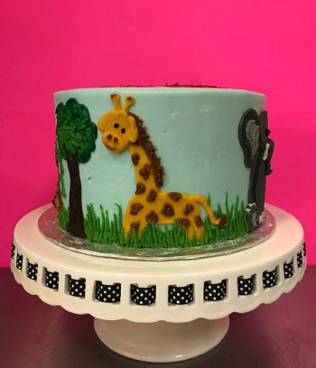 Zoo Layer Cake - Giraffe