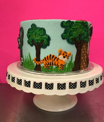 Zoo Layer Cake - Tiger